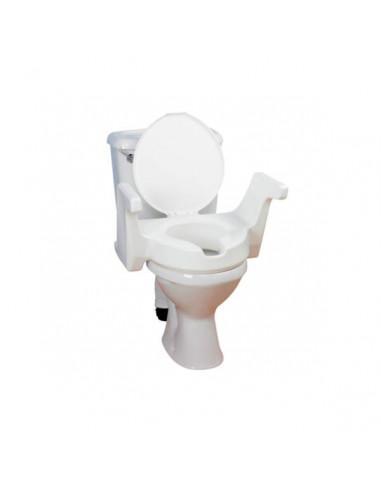 Rehausseur de wc avec accoudoirs intégrés
