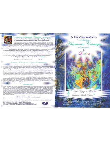 DVD de relaxation à partir du Tableau Fée Lumière de l'artiste Lisélion